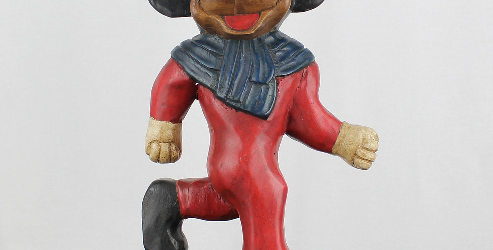 Minnie Mouse;Mickey Mouse;Unlicensed;Walt Disney;Bootleg;Fake;Collectible;Wood;Wooden;Statue;Figurine;Sculpture;Shop;Store;