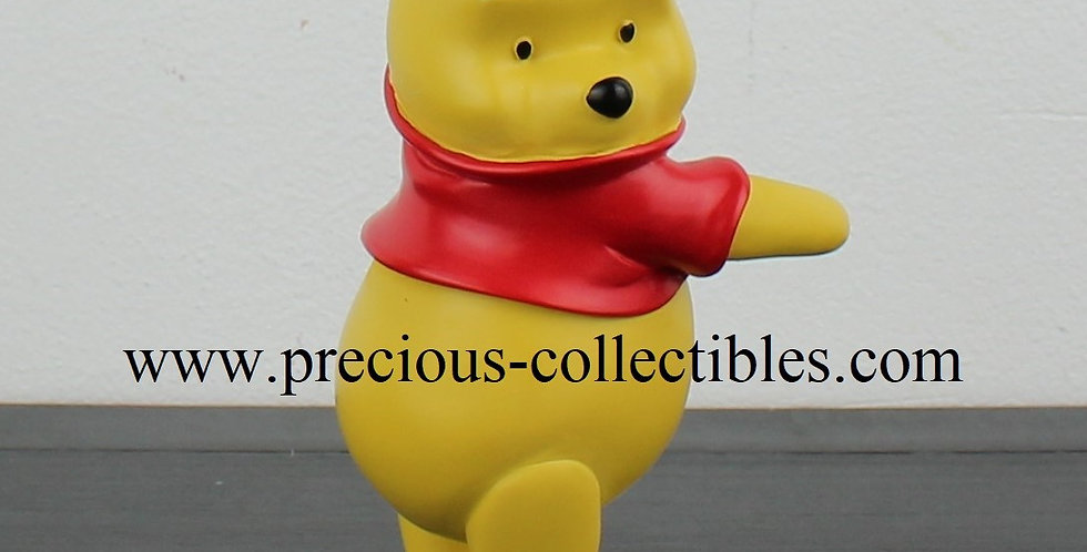 Winnie the Pooh;5 inch;statu;walt disney;fingendi;rutten;peter mook;rutte;webshop;for sale;rare;disney;bear;yellow;gift;pigle