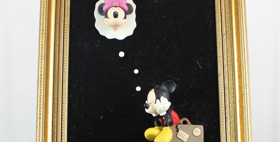 Mickey;Minnie;Mouse;Joakim lundstrup;Sweden;Jie Art;Polyresin;3D;Walt Disney;Art;Miss U;Romantic;for Sale;Shop;gift;valentine