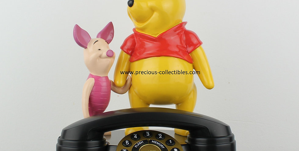 Winnie the pooh;piglet;superfone;superphone;walt disney;phone;pfone;home;statue;product;for sale;shop;collectible;rare;unique