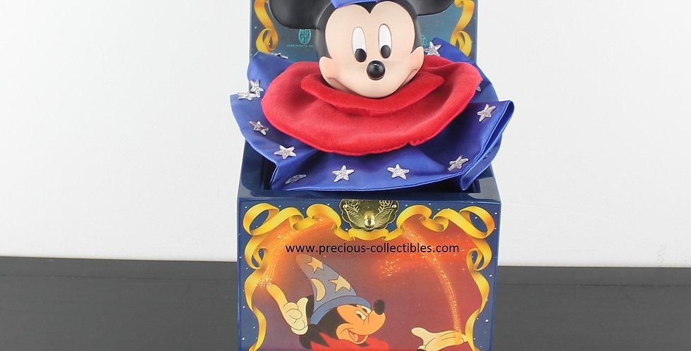Mickey Mouse;Enesco;Music Box;Walt Disney;Sorcerer's apprentice;fantasie;movie;classic;comic;cartoon;product;store;for sale;