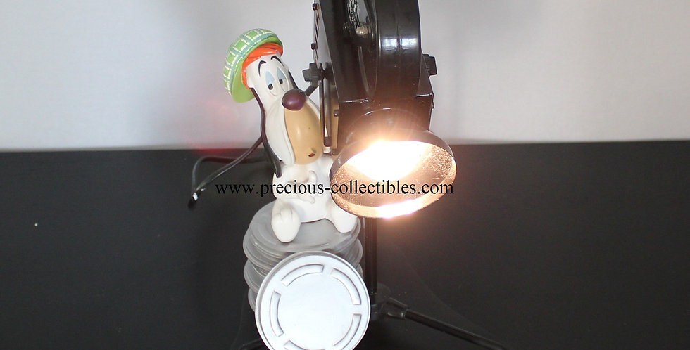 Droopy lamp Avenue of the stars tex avery vintage movie director for sale product vintage collectible boxed basset hound gift