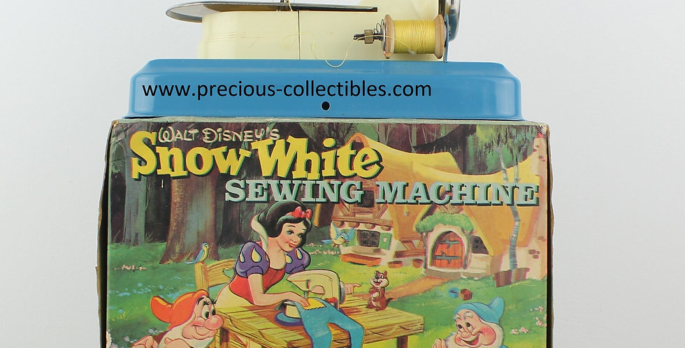 Snow White;Seven Dwarfs;Little Betty;W4D;Sewing machine;Collectible;Antique;For sale;Webshop;E. Gheyesens of Kent;Rare;Extrem