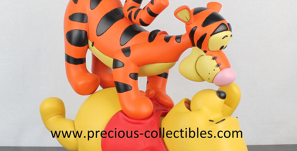 Winnie the Pooh;Tigger;Sculpture;Statue;Walt Disney;Polyresin;Peter Mook;Rutten;Store;Product;Gift;Child Room;Friends;Playing