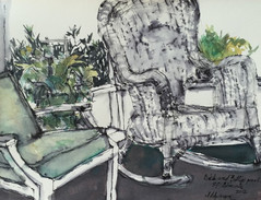Dick and Betty's Porch at St. Simons Island 2012