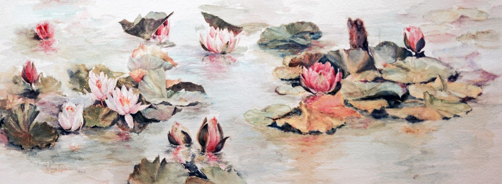 Monet's Waterlilly Garden
