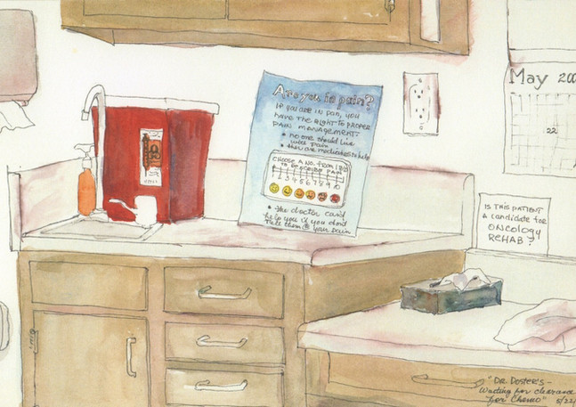 Dr. Doster's - Waiting for clearance for chemo