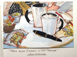 Coffee with Sarah in Mt. Pleasant