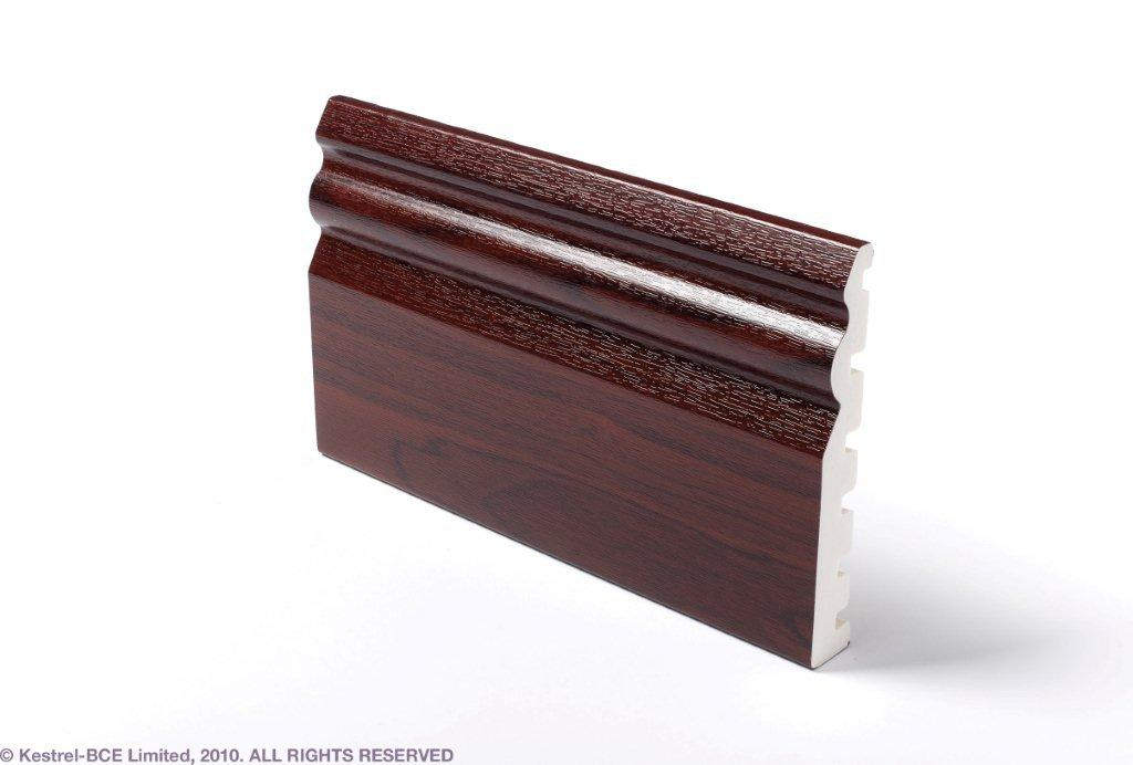 uPVC SKIRTING ROSEWOOD