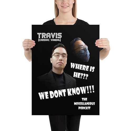 Where's Travis? - Poster