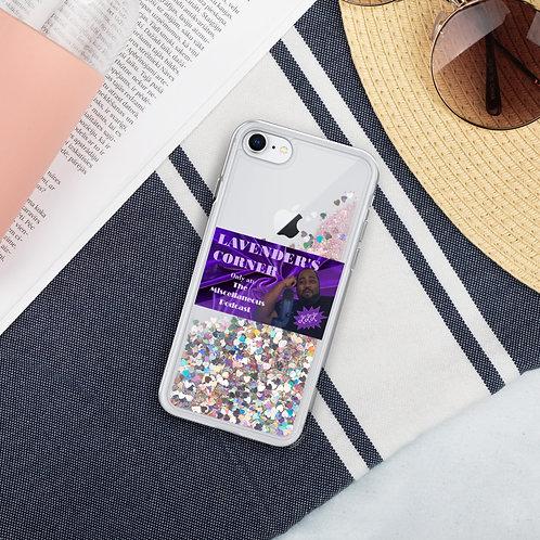 Lavenders Corner - Liquid Glitter Phone Case