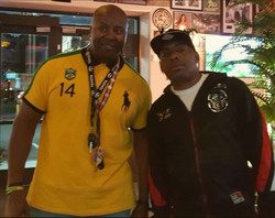 Dj Que and Coolio