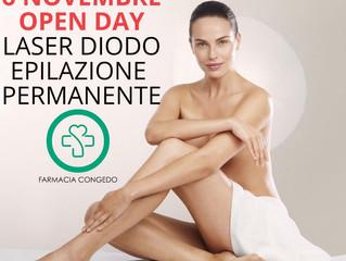 OPEN DAY LASER DIODO