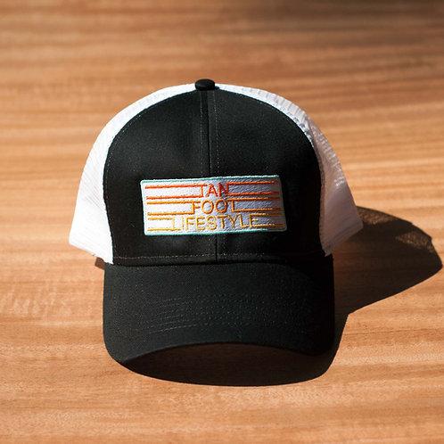 TFL 3 Lines Cotton Twill Structured Trucker Hat
