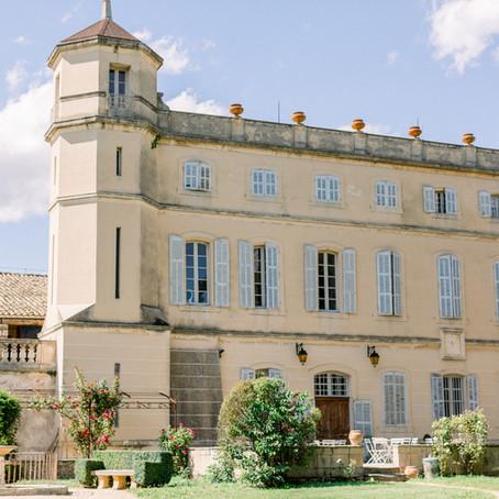Mariage chic au Chateau de Sénéguier