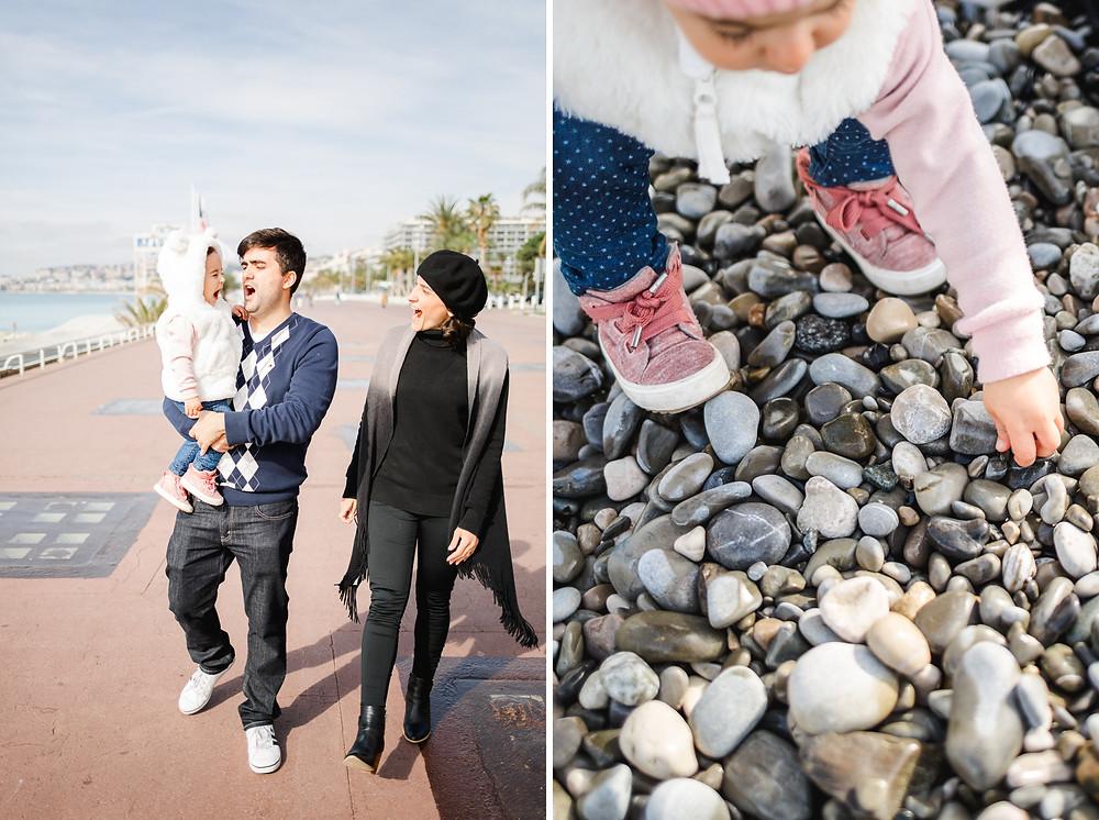 Séance famille Promenade des Anglais