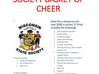 Wisconsin State Society Basket of Cheer