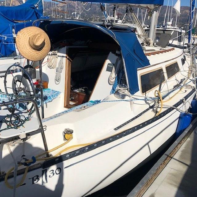 Islander 30 in Santa Barbara
