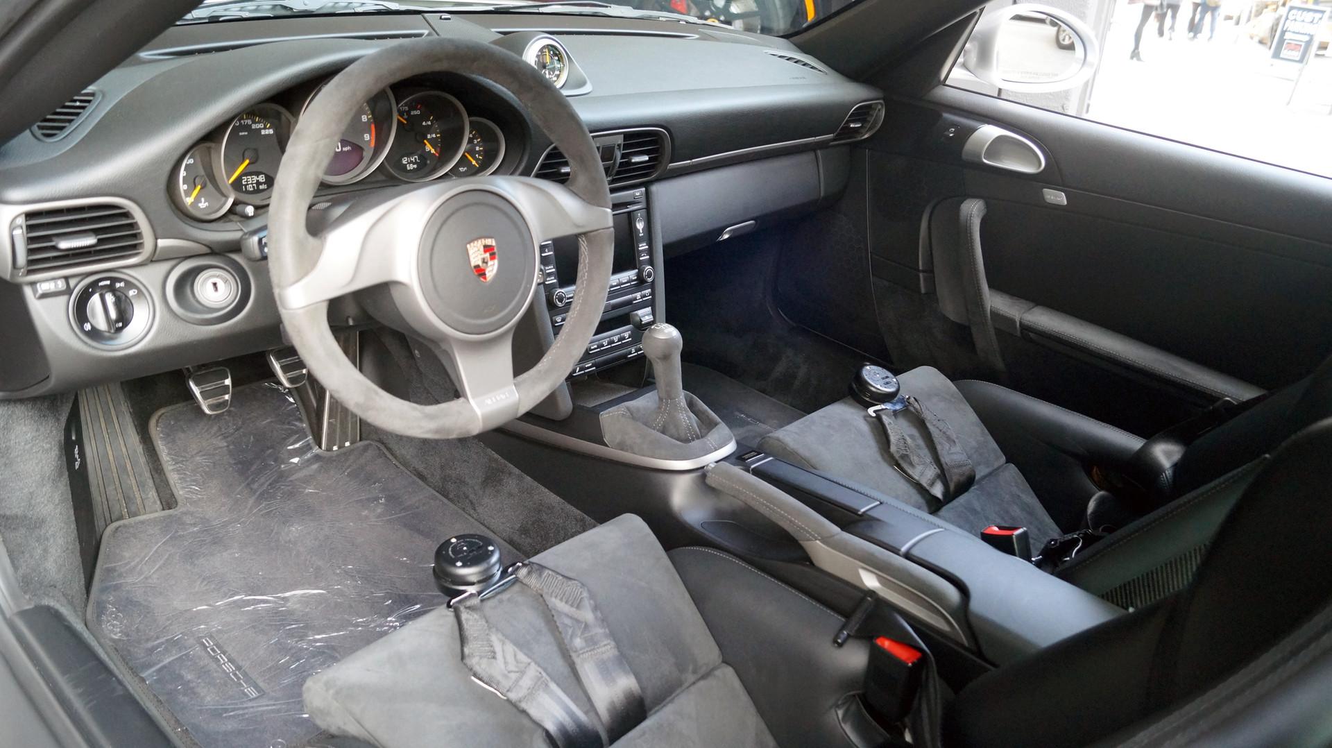 GT3 Interior Detail