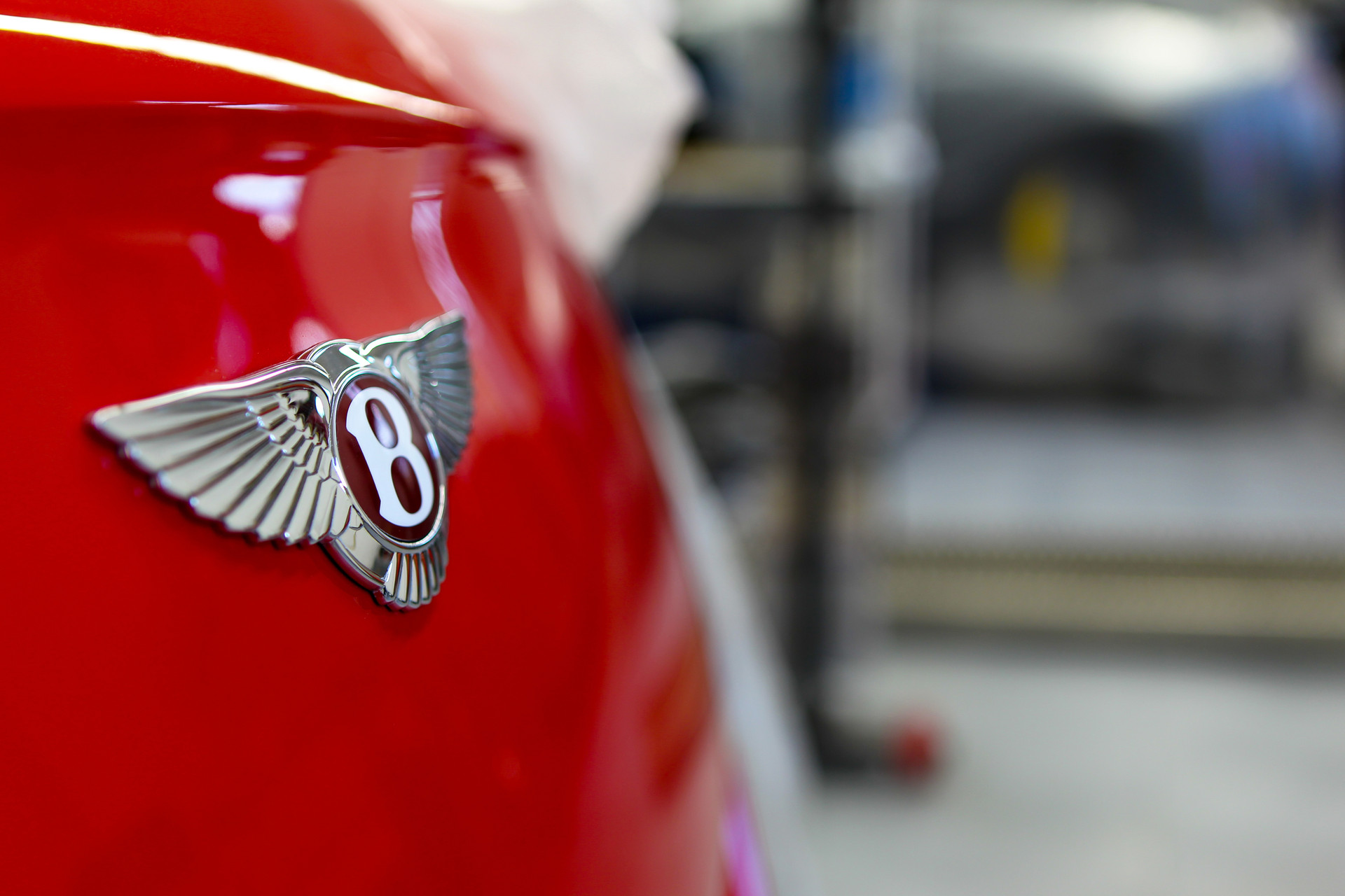 Bentley Badge Detail