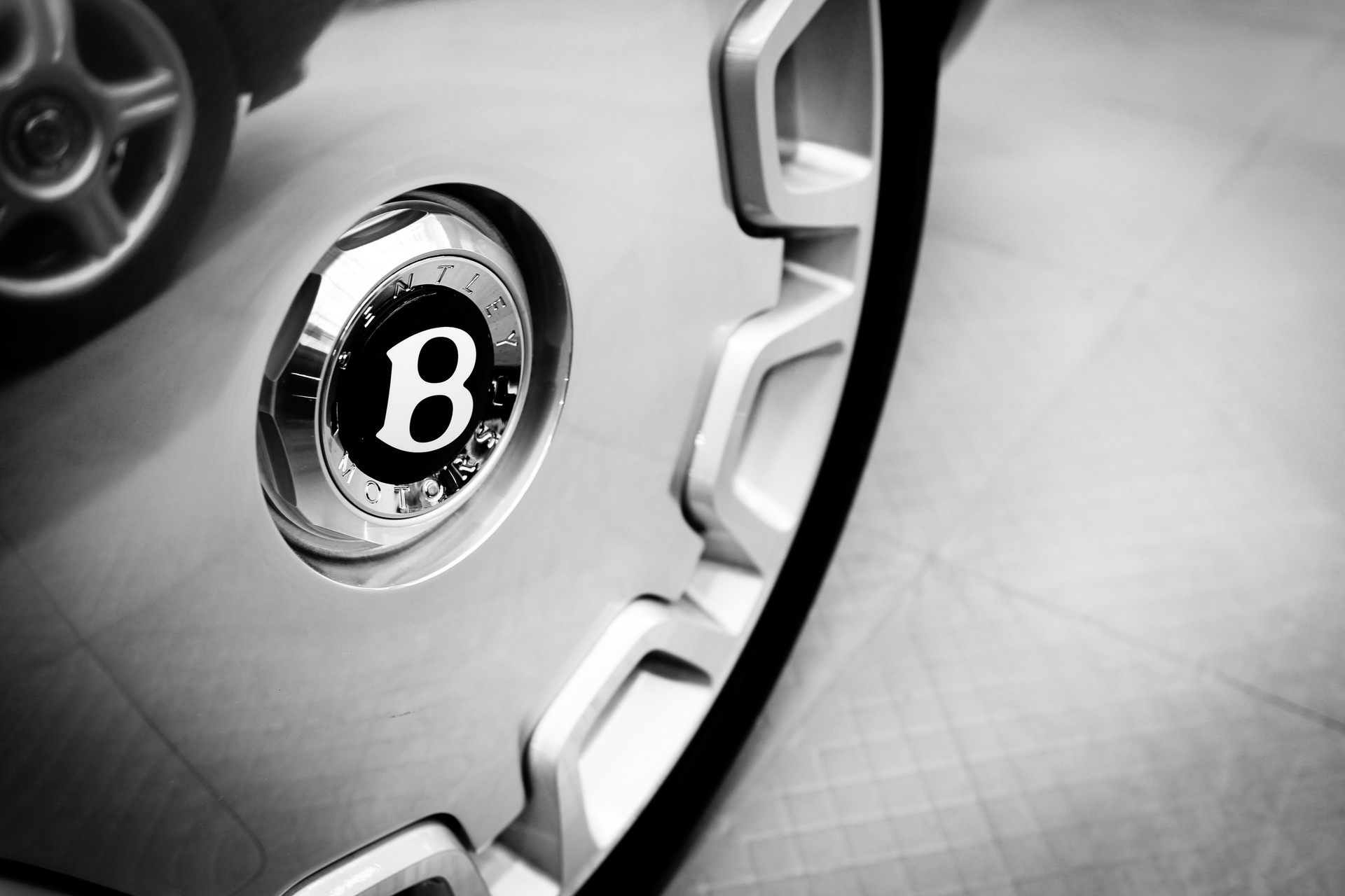 Bentley Wheel Detail