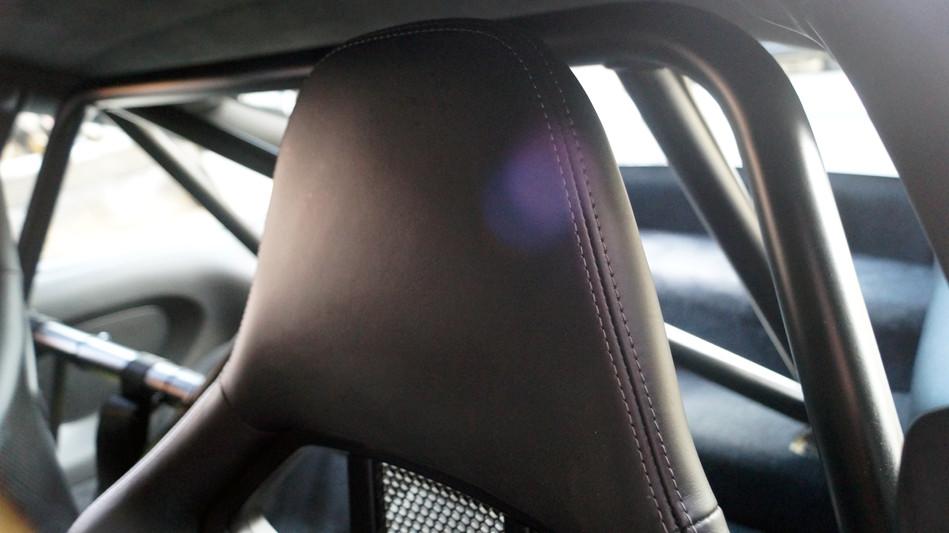 GT3 Headrest Detail