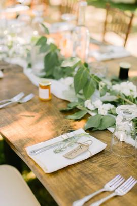 Kurtz Orchards Wedding Table