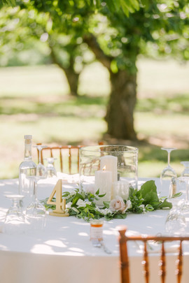 Outdoor Wedding at Orchard