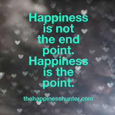 Why Happiness is the Most Important Thing
