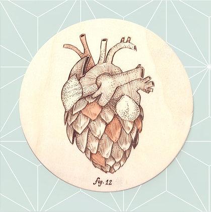 Carte postale Coeur d'artichaut