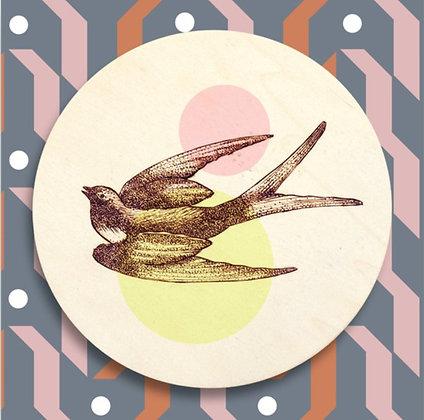 Carte postale Hirondelle