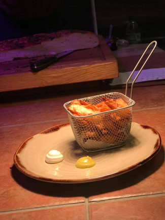 jerusalem Artichoke chips, 2 different m
