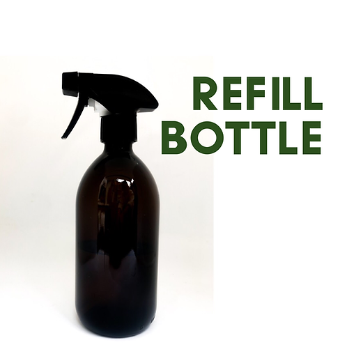 Empty Brown Bottle with Trigger - 500ml