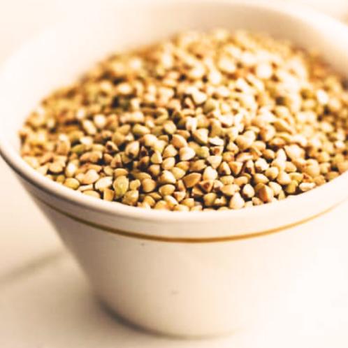 Organic unroasted buckwheat