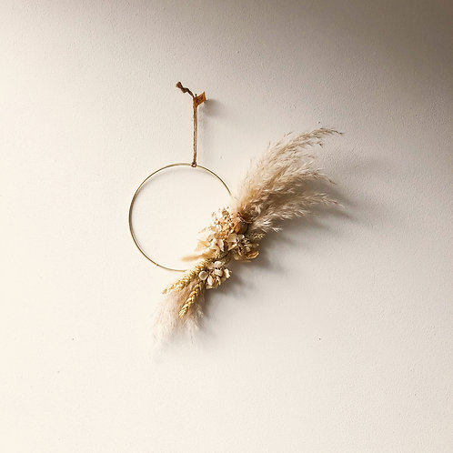 Small - Pampas Wreath