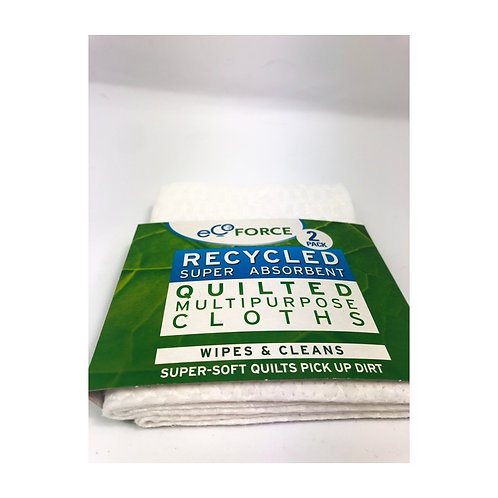 Eco Force - Multi Purpose Cloths x 2
