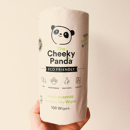 Dry Wipes - Bamboo - Plastic Free