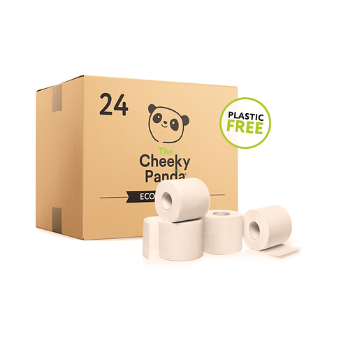 24 Roll of Bamboo Toilet Paper - Plastic Free