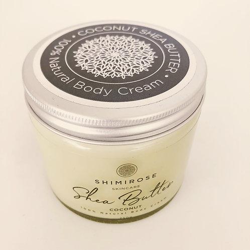 Body Cream - Shea Butter - Shimirose - 250g