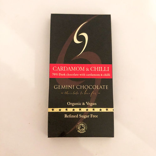 Cardamom & Chilli Chocolate