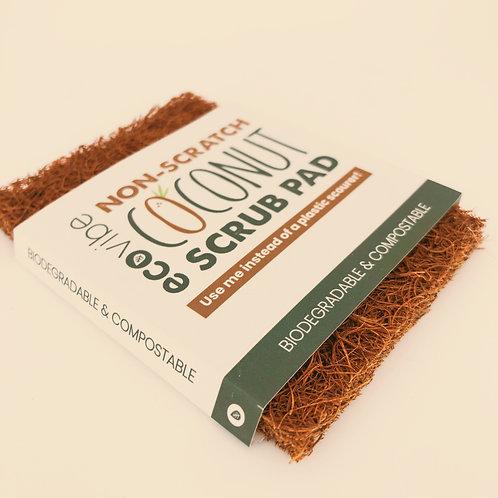 Non-Scratch Coconut Scrub Pad