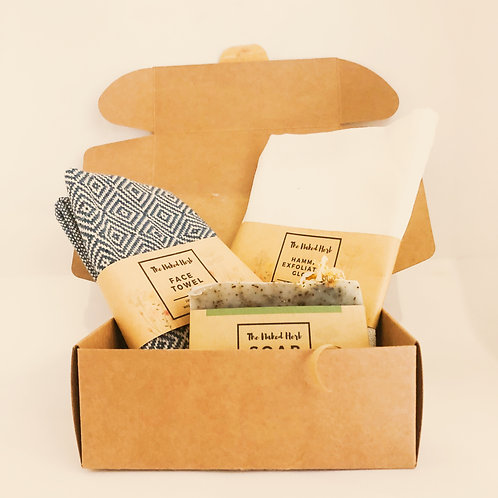 Hamam Set - The Naked Herb Soap