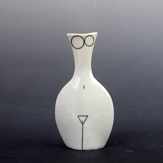 Porcelain Bottle Woman Number 1