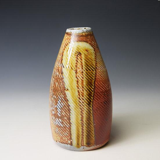 Tapered squared bud vase