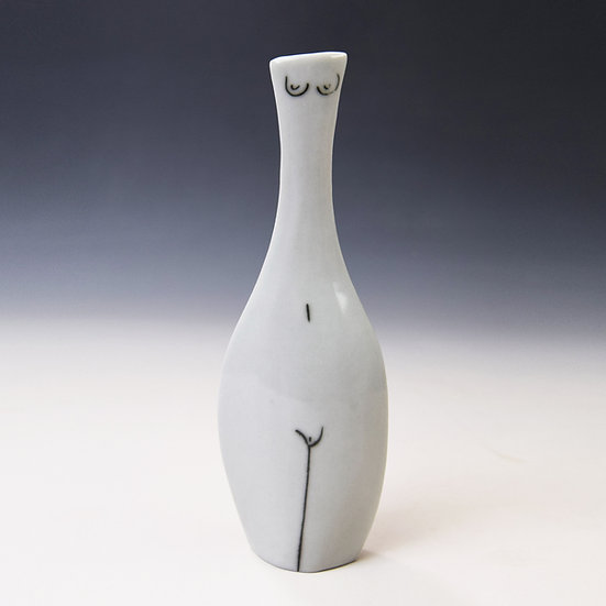Thin porcelain woman