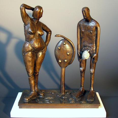 Adam & Eve. Price £2,500