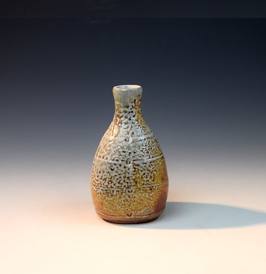 Soda fired bud vase 05