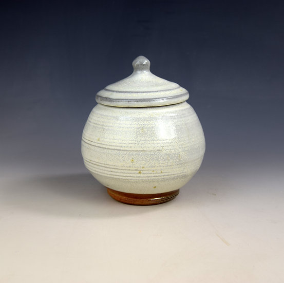 Soda fired store jar