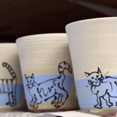 Cat mugs!