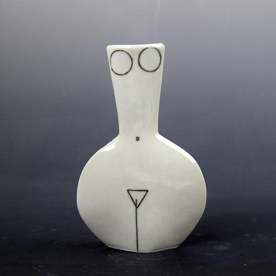 Porcelain Bottle Woman Number 5